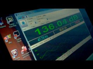ваз 2114 замер на музыке Усилитель JBL gto 75.2 саб Mystery MO