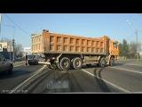 Дрифт на четырех осевом грузовике