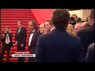 Robert and cast at the red carpet of Cosmopolis premiere in Cannes