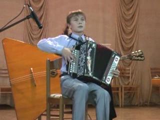 Играет Фомин Павел (гармонь,Россия)