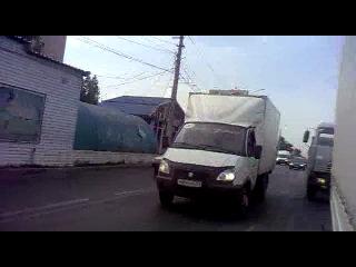 встреча волгоградских газелистов  на дороге