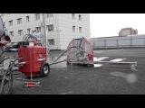 Hilti DS TS 32 Резка бетонного пола на глубину 300 мм.