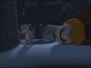 Рождественские приключения зверей.