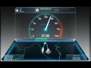 Интернет тест, Перевальск, матрица интернет-провайдера
