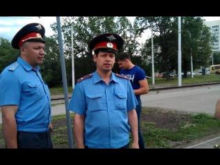 Жадный полицай и благодарный МММщик!