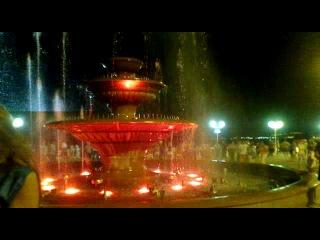 Поющий фонтан в Геленджике.Часть 2.