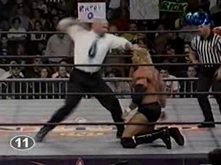 WCW NITRO 24.01.2000 - Титаны Рестлинга на канале ТНТ / Николай Фоменко