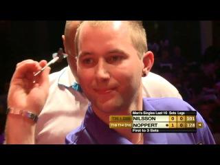 Danny Noppert vs Dennis Nilsson (Winmau World Masters 2013 / Last 16)