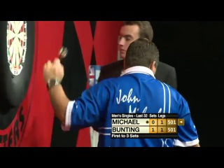 Stephen Bunting vs John Michael (Winmau World Masters 2013 / Last 32)