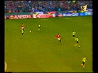 Лига чемпионов 1996 1997 1 2 финала Манчестер Юнайтед Боруссия 1 тайм