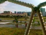 Проспект Раиса на подъезде к пляжу Прибрежный 17 07 2012