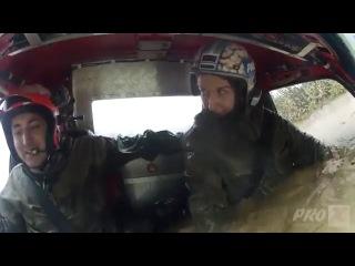 Женщина-водитель с железными нервами!