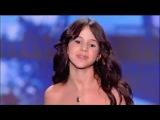 13-летняя девочка с мощным голосом на французском шоу талантов