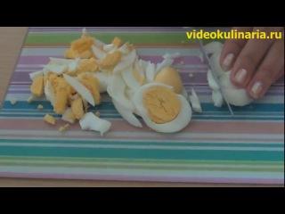 Салат из копченой курицы и огурцов