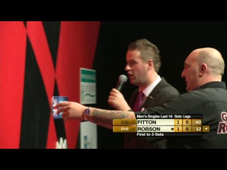 Darryl Fitton vs Gary Robson (Winmau World Masters 2013 / Last 16)