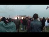 Рок над Волгой 2013 начало выступления группы Rammstein
