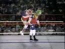[ WWF Monday Night RAW 02.08.1993 - Randy Savage vs. Doink The Clown