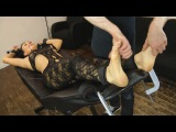 Kelly Carter's Hot Body and Barefeet Get Tickled Crazy