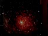Светодинамическое панно. Звездное небо. г. Нововоронеж. Клуб 7-е небо. Правая часть. Вспышка, звездный фон.