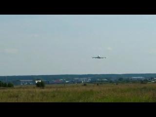 Проход на предельно малой высоте Ту-154Б-2 и Ил-86
