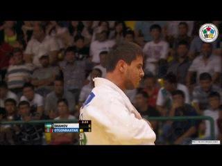 Дзюдо, Гран-при в Ташкенте, Узбекистан, 81 кг, схватка за бронзу, Якхо имамов-Отгонбатаар Утганбатаар http://vk.com/dzigoro_kano