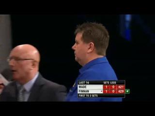 James Wade vs Connie Finnan (World Grand Prix 2013 / Round 2)