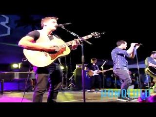 The Jonas Brothers play 'Found' at Hawaii Five-0's Season 4 Premiere in Waikiki
