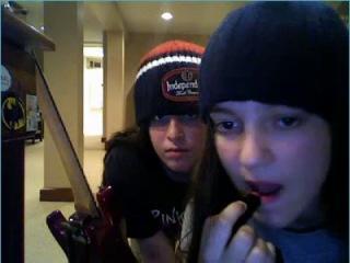 Drunken ladies get lost on webcam at My SticKam Girls