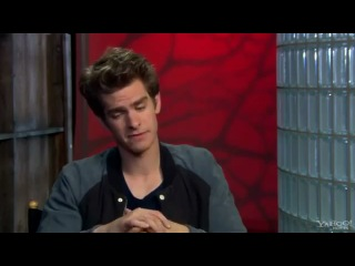 The Amazing Spider Man Yahoo Interview With Andrew Garfield and Emma Stone