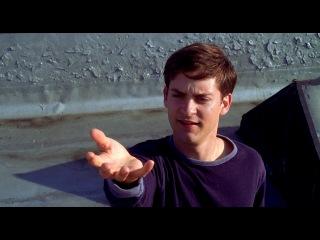 Человек-паук (2002) Прикол с паутиной. ВО ЛОЛ!