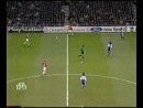 Лига Чемпионов 1999-00 2 групповой раунд 5 тур Группа B Манчестер Юнайтед - Фиорентина 1 тайм