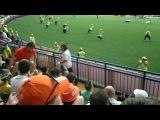 Болельщик сборной России на матче: Голландия - Дания