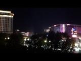 Лас-Вегас, поющие фонтаны у отеля Bellagio, штат Невада, США