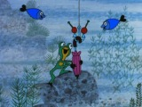 Крот серия 51 Крот,лягушонок и зонтик