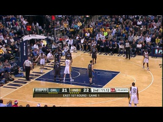 NBA Playoffs 2012 / East / 1st Round / Games 1- / 28.04.2012 / Indiana Pacers vs Orlando Magic 1