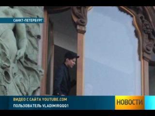 Павел Дуров кидал в толпу на Невском деньгами