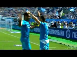 Зенит - Амкар (2-0) матч 1 тура