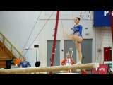 Бревно Алия Мустафина 2013