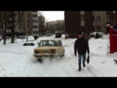 Заезд к дому на Глушкова на Жигульку как на БеТеРе