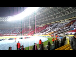 Москва. Лужники. Спартак-Барселона 20.11.2012