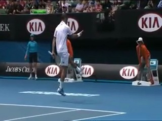 Australian Open 2013. 3 круг. Новак Джокович (Сербия) - Радек Штепанек (Чехия)