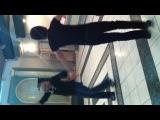 Ресторан Аркобалено.Айжан Нурмагамбетова народная певица РК. танцует нашинскую со мной))