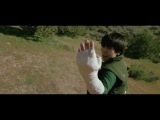 Фильм косплей по Наруто. Рок Ли против Наруто