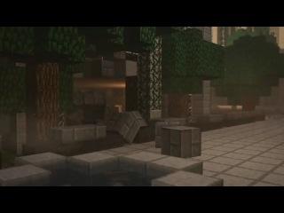 Earthbending in minecraft - animatio