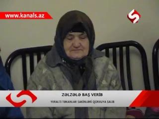 Şəkidə və Qaxda zəlzələ qeydə alınıb - YENİLƏNİB