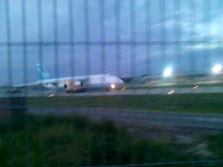 Взлет Ан 124-100 из UKLL\ LVIV \ LWO  15.05.2013
