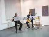 Эжен Бозза - Три пьесы для флейты и гитары,№2, исп. Антон Королёв (флейта) и Глеб Ласкин (гитара).