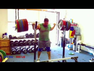 800 pound - 363 kg Squat - ATG 100 RAW