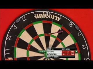 Phil Taylor vs Paul Nicholson (World Grand Prix 2013 / Round 2)