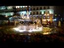59. Мадрид. Торжественное кидание монетки в фонтан на Пуэрта Дэль Соль